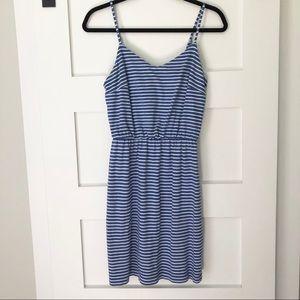 GAP blue striped cotton dress-  XS